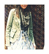 Tassel Printed Scarf style pic