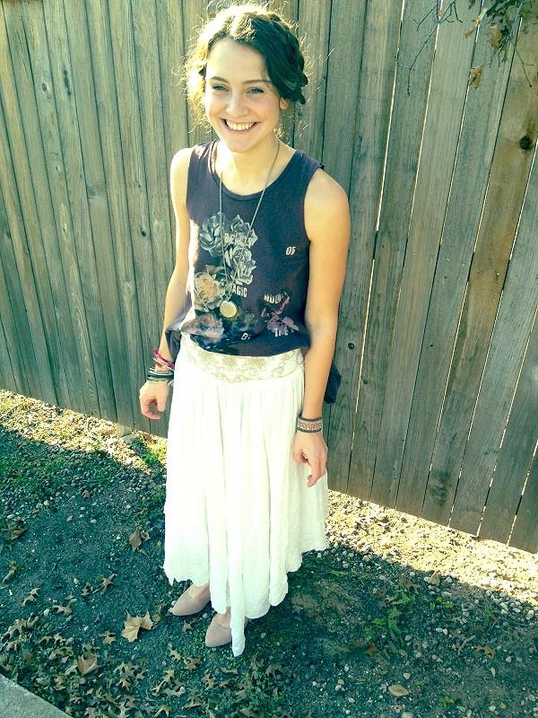 FP X Rhiannon Skirt style pic via Instagram: freep
