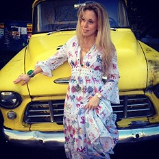 Vintage Maxi Dress style pic