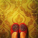 Moroccan Beaded Slipper style pic