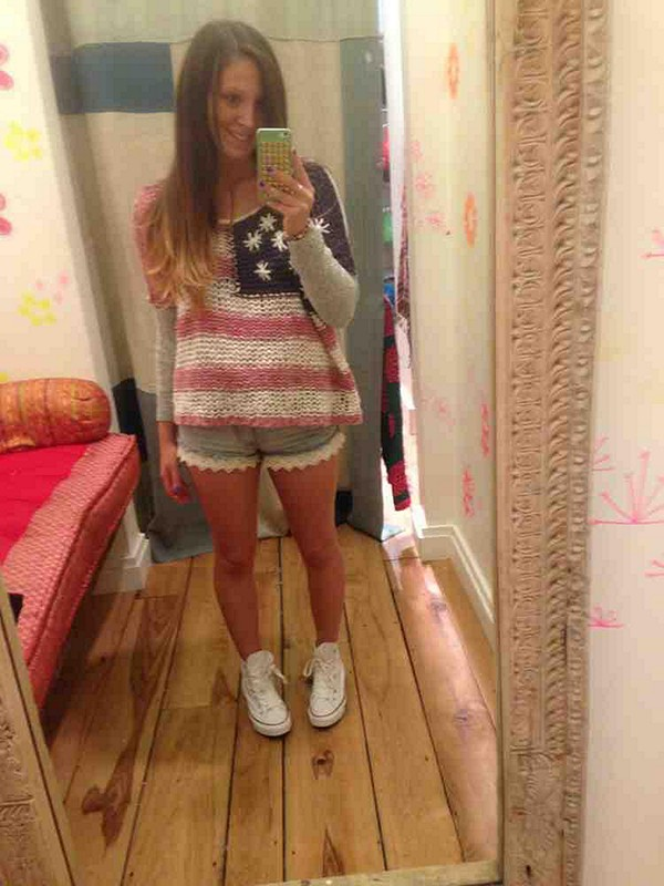American Flag Store Style Pic