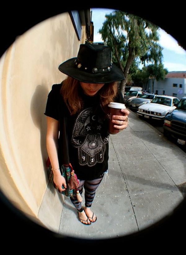loveee my Buffalo Nickel Leather Hat