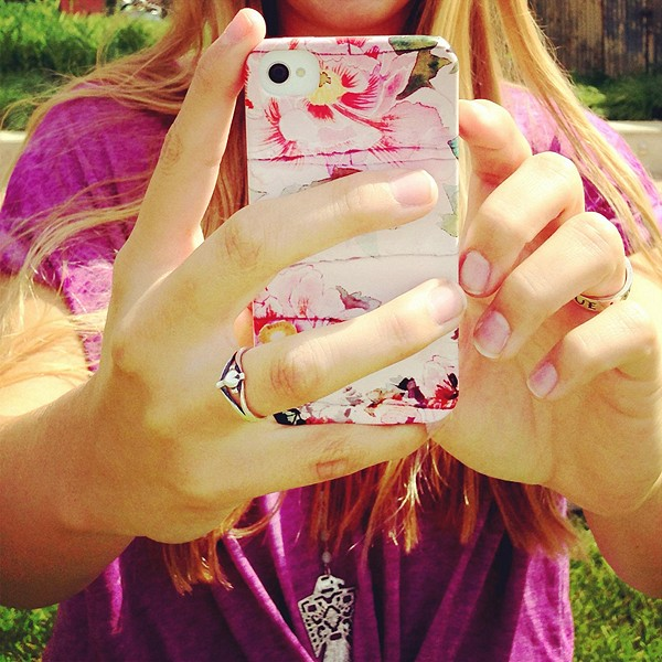 Printed iPhone 5 Case style pic
