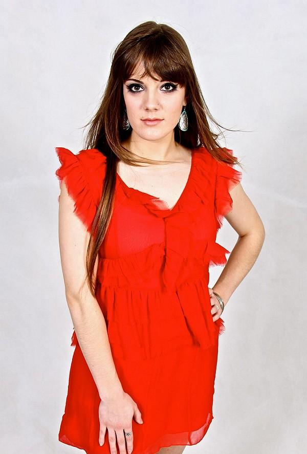 La Boheme Ruffle Dress style pic