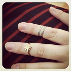 Sterling Silver Midi Ring style pic