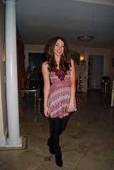 Twinkle and Twirl Fit and Flare Dress style pic