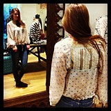 FP New Romantics Dot To Dot Blouse style pic