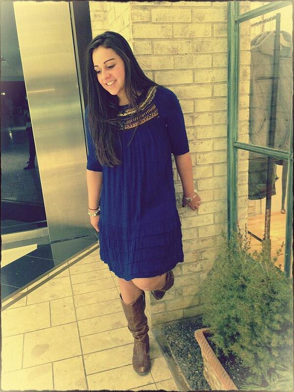 Ribbons And Rows Dress style pic