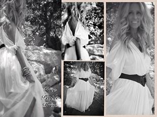 Open Shoulder Maxi Dress style pic