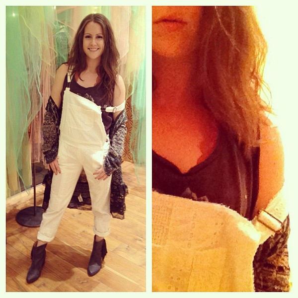 Straight Eyelet Overall style pic