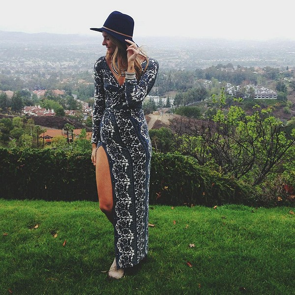this dress is to die for // sloppyelegance.com
