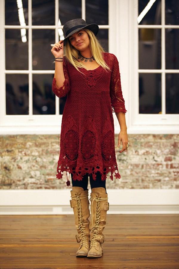Mi Amore Lace Dress style pic