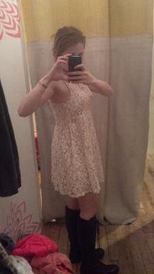 Sleeveless Miles of Lace Dress style pic