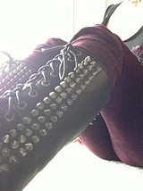 Studded Seattle Love Boot style pic