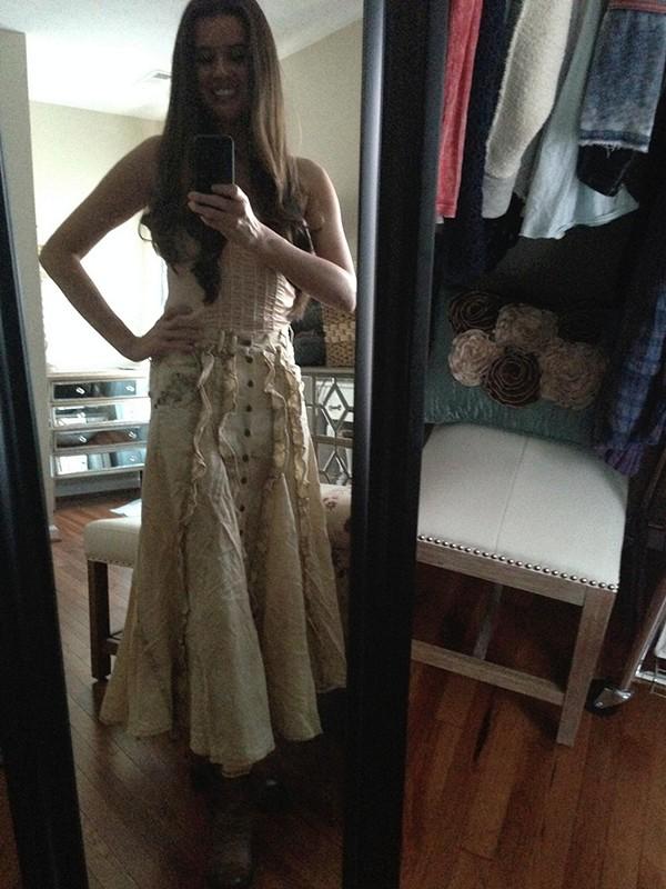 Ruffled Prairie Skirt