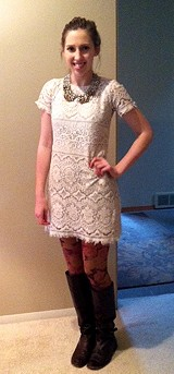 Straight Laced Shift Dress style pic