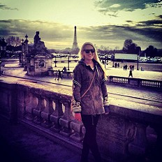 Parka In Paris