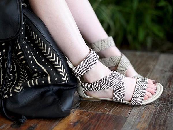 Vineyard Woven Sandal