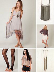 tassels and fringe
