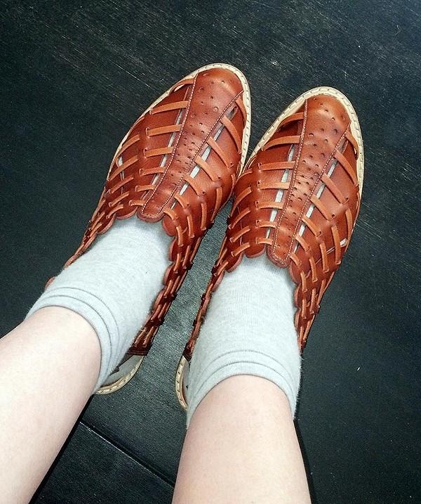 Coastal Woven Sandal style pic