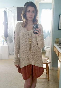 Shaggy Knit Pullover style pic