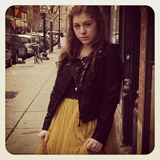 Scallop Edge Crop over Gianna's L.E. Dress