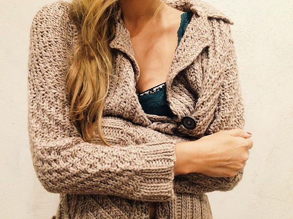 Buttermilk Biscuit Cardigan