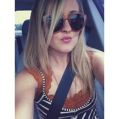 Miss Brooks Sunglasses style pic