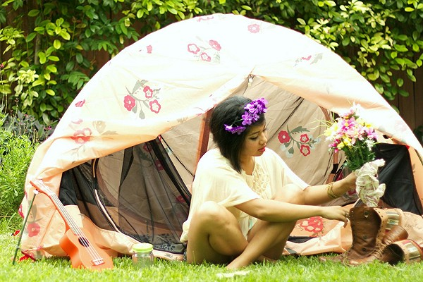 Alite x Free People Tent style pic
