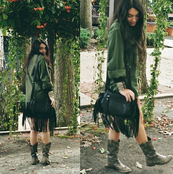 Jasmine Fringe Bag