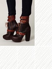 platform bucle boot