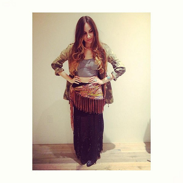 Mi Amore Maxi Skirt style pic