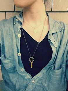 Zodiac Necklace style pic