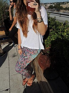 Dream Sequence Printed Pant