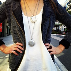 This Moon Crescent Necklace is MAGIC!