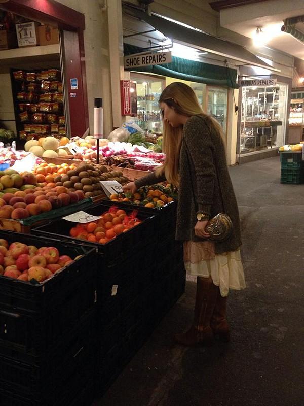 farmers market....