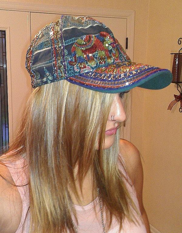 Embellished Baseball Hat style pic