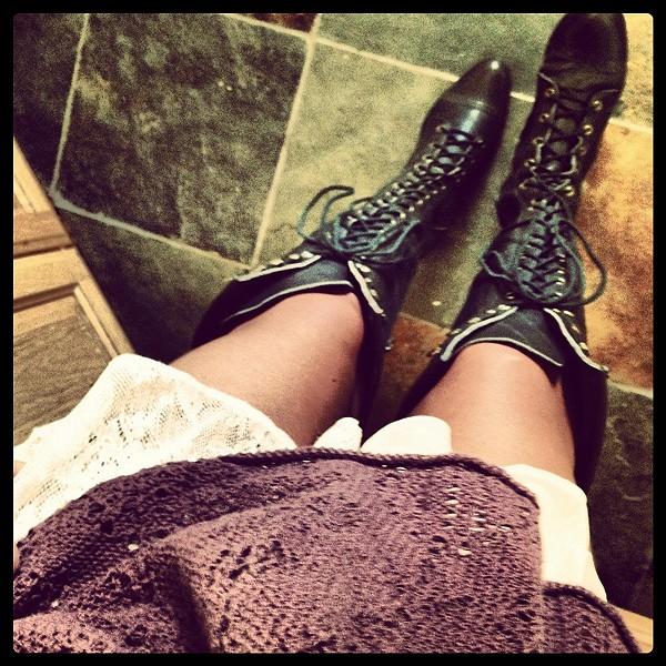 Joe Lace Up Boot style pic