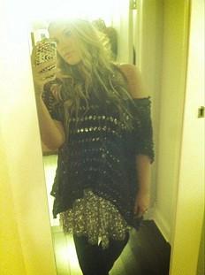 Shimmy Shimmy Party Dress style pic, layer it!