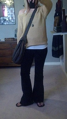 Marled Yarn Pullover style pic
