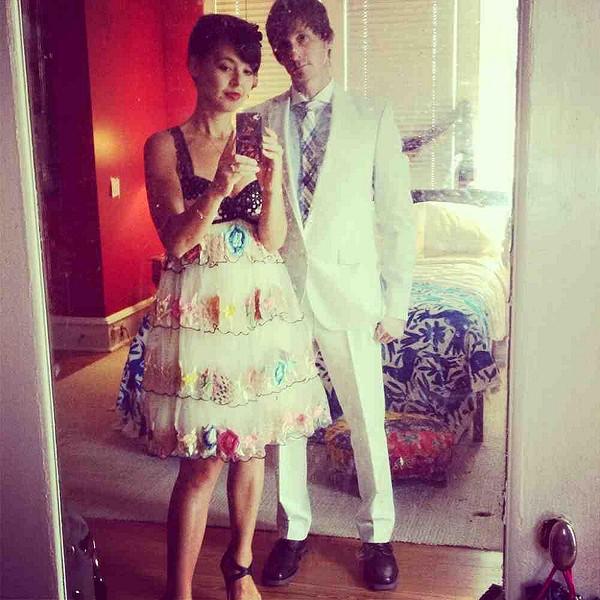 Pre-wedding selfie