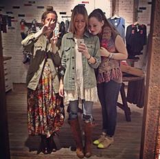 Meg, Erika and I <3
