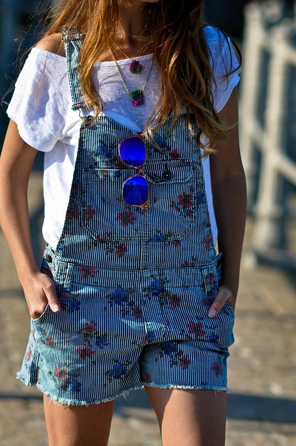 Railroad Printed Dungaree style pic
