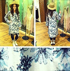 Peacemaker Print Shapeless Dress  style pic