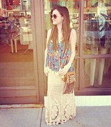 Mi Amore Maxi Skirt style pic