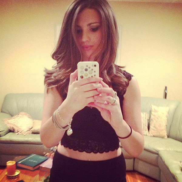 love this FP intimates  lace crop top!