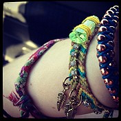 Studded Friendship Bracelet style pic