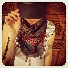 Patchwork Scarf style pic