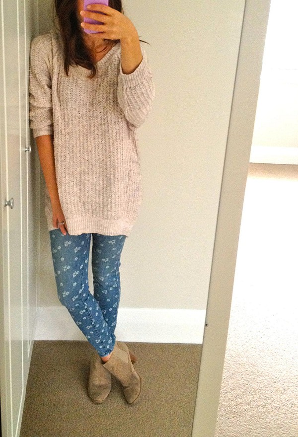 Ditsy Floral Ankle Crop style pic