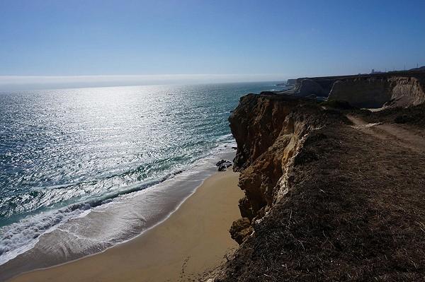Hidden Beach off of Highway 1 #fpFiveElements #california #water #earth